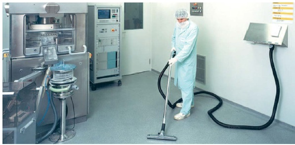 Pharmaceutical Dust Cleaning In Clean Room Dustcontrol